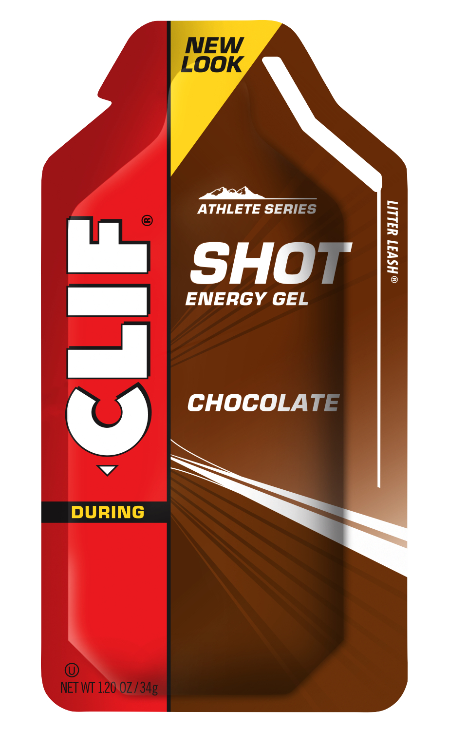 CLIF SHOT Gel Chocolate Pouch