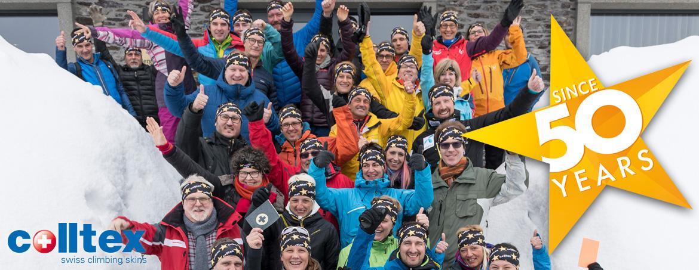 50 Jahre colltex Skihaftfelle - Jubiläumsfeier