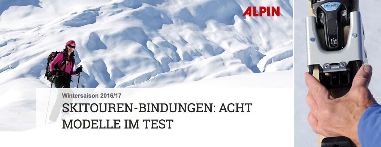 alpine.de - Skitouren-Bindungen im Test