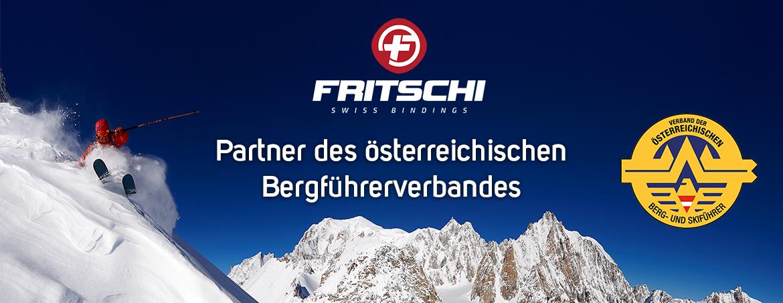 Fritschi -  Partner des österreichischen Bergführerverbandes