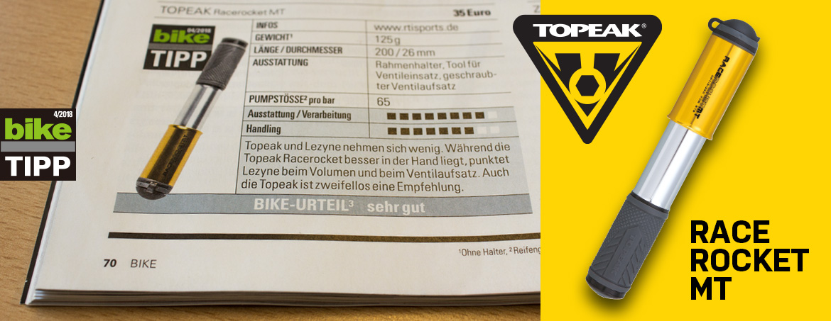 BIKE-Tipp: Topeak RaceRocket MT